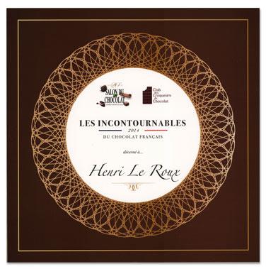 """Palmarès des 20 meilleurs chocolatiers de France """"Les Incontournables"""","""